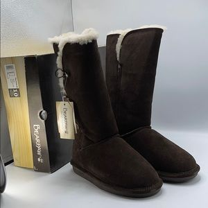 Bearpaw Lauren Chocolate women's size 10m